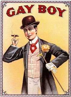 Cigarette Advertising: Gay Boy by Fugue,