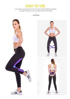 yes4all thigh master toner machine leg exercise arm ab