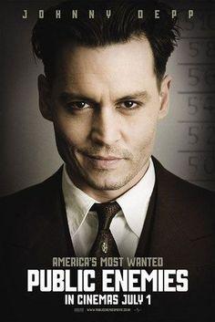 Public Enemies, great movie! Loved JD as Dillinger