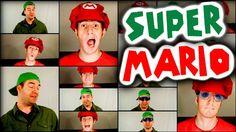 SUPER MARIO BROS ACAPELLA MEDLEY - Julien Neel & Nick McKaig