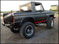 1968 Ford Bronco 460 CI, 4-Wheel Drive for sale by Mecum Auction