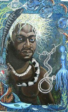 Image result for Olokun images