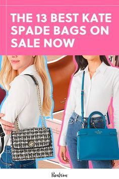 The Kate Spade Surprise sale is here and it's full of beautiful bags in all styles—from messenger to bucket to shoulder bags. These 13 picks are at the top of our list. #KateSpade #sale Beautiful Bags, Go Shopping, Large Bags, Bag Sale, Kate Spade Bag, Color Trends, Bucket Bag, Autumn Fashion, Shoulder Bag