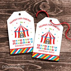 Personalized Circus