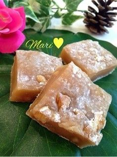 Pin by miwa on クローゼット in 2019 Making Sweets, Easy Sweets, Homemade Sweets, Sweets Recipes, Wagashi Recipe, Easy Cooking, Cooking Recipes, Delicious Desserts, Yummy Food