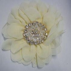Simply Elegant Hair Flower