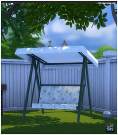 Shaded Seat by Mr S at Simista • Sims 4 Updates