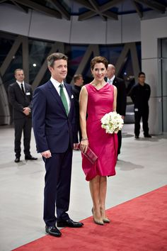 2014.09.27: Crown Prince Frederik & Crown Princess Mary at the 2014 Crown Prince Couple Awards ceremony