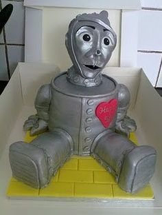 Tin Man--can make from cans too.