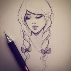 drawings simple stunning gabrielle drawing sketches pretty