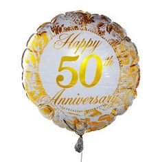 Unusual and Unique Birthday and Anniversary Gifts for Men and Women. Personalized birthday gifts for him or her, parents, grandparents. Golden Anniversary Gifts, 50th Wedding Anniversary, Anniversary Parties, Anniversary Ideas, Birthday Gift For Him, 50th Birthday Gifts, Send Balloons, Helium Balloons, Anniversary Centerpieces