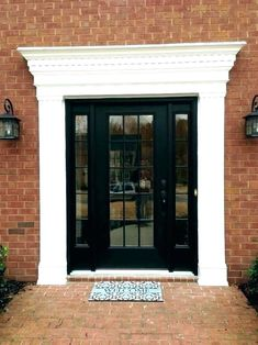 Read This Article For The Best Interior Design Advice - Helpful Home Decor Tips Door And Window Design, Main Door Design, Front Door Design, Front Door Trims, House Front Door, Carpet Crochet, Exterior Door Trim, Door Design Images, Steel Gate Design