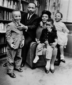 Rev. Martin Luther King Jr. & his family (would love to speak w his wife)  *social activist* Guests