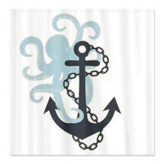 CafePress Anchor And Octopus Shower Curtain - Standard White, http://www.amazon.com/dp/B00I9YICAO/ref=cm_sw_r_pi_awdm_UU9Mtb1BXZE6C