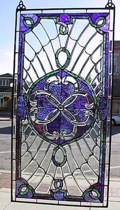 Celtic United Hearts stained glass window. Lovely . . . Gorgeous!