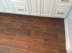 "Tile Floor6""x24"" that looks like wood planks"