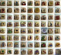 Graphic Designer Dad Illustrates His Kids Lunch Bags Almost Every Day Since 2008 :o