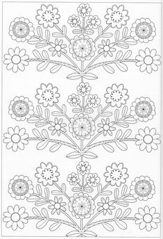 Scandinavian Coloring Book Pg 45