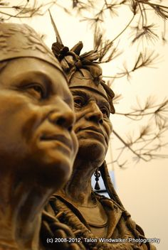 Statues, National Museum of the American Indian
