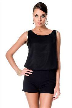 Trend: Gündüz & Gece - Siyah Bluz 1003068 %53 indirimle 34,99TL ile Trendyol da