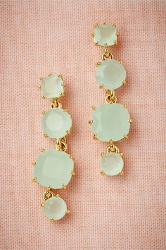 Beautiful....  Coolmint Earrings from BHLDN