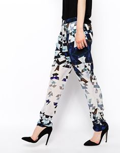 Image 4 of2nd Day Graphic Printed Trouser