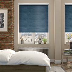 Rich and textured, the Dupioni faux silk teal roller blind is a fashionable and funky window dressing that creates a look of complete and utter luxury.