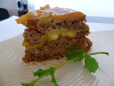 Piñón – Puerto Rican Lasagna!!  This is a classic dish from Puerto Rico and the best way to describe it is by calling it a lasagna because of its layers.