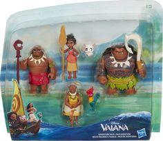 Disney Princess Vaiana Small Figure Multipack (C0149) | Moustakastoys.gr