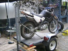 Motorcycle Trailer by pursang -- Lightweight single bike trailer. click on link below for...