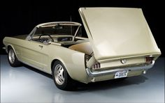 1966 Ford Mustang... with retractable hardtop!