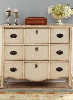 Handsomely store and organize your master suite essentials in the Wayside Dresser; a stylish piece expertly crafted to offer years of use.