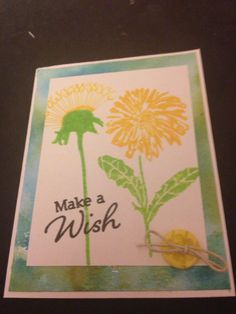 Handmade card by me!  Mft stamps