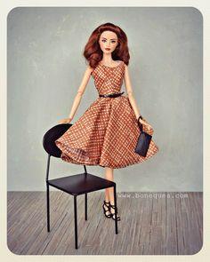 #ooak #barbiestyle #barbielook #sweettea #bonequea
