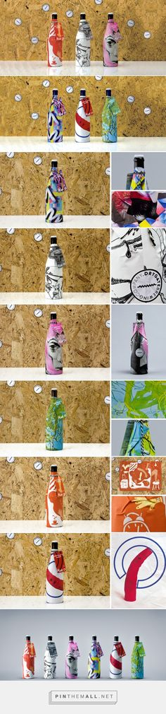 Drygate Limited Edition beer packaging / D8  Fine art inspired beer packaging