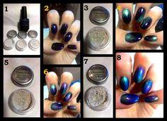 How To: Mood Ring Nails!  Monaco Nails and Beauty, Auckland #MonacoNailArt #FingerNails #WomensFashion