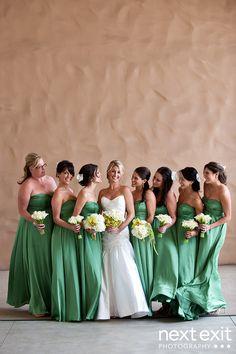 Casamento na cor verde