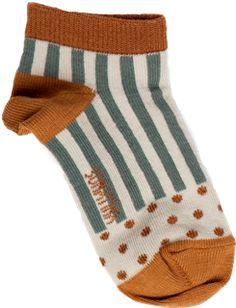 Funky Boys Short Socks- stripes and dots. #shanandtoad.com