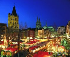 The Cologne Christmas market