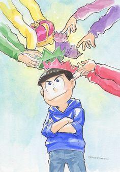"""Osomatsu-san Karamatsu #Anime「♡」 pixiv是一個集插畫投稿及閱覽于一體的""""繪畫交流平台""""。這裡有種類豐富的插畫投稿,還時常舉辦由用戶發起的插畫企劃和官方承認的插畫比賽。"""