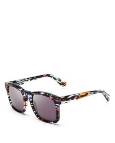 WILDFOX Gaudy Square Sunglasses | Bloomingdales's