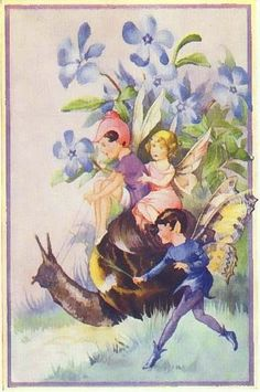 ArtbyJean - Vintage Clip Art: Little Fantasy Prints with Knomes, Elves, Fairies, Kings and Queens