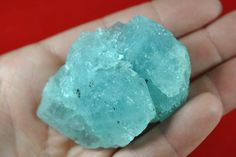 Blue Topaz is a wonderful natural raw crystal for self expression and communication.
