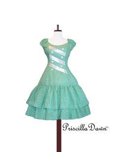 Minty I Love Me Dress Last one. $175.00, via Etsy.