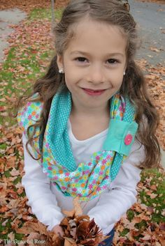 Cuffed Infinity Scarf Tutorial - The Cottage Mama