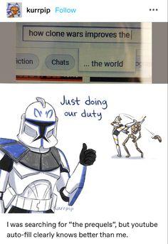 Star Wars Rebels, Star Wars Clone Wars, Star Wars Jokes, High Ground, Funny Memes, Hilarious, War Comics, Star Wars Images, Star Wars Fan Art