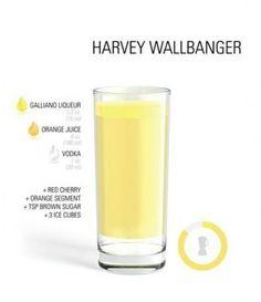 Drinks - Harvey Wallbanger (Cocktails)