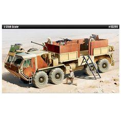 ACADEMY U.S. Army HEMTT M985 Gun Truck Plastic Military Vehicles 1/35 #13291 #Academy