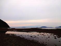 天草 amakusa 樋合島と高杢島の間から