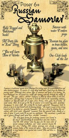 Russian Samovar and it's usage